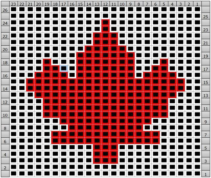 Maple Leaf Knitting Pattern : 17 Best images about maple leaf chart on Pinterest Ravelry, Charts and Autu...