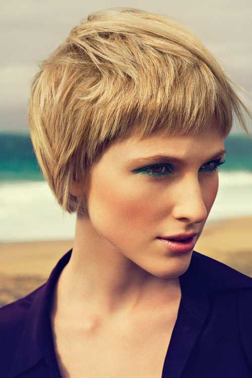 35 Short Haircuts for Thick Hair | http://www.short-haircut.com/35-short-haircuts-for-thick-hair.html