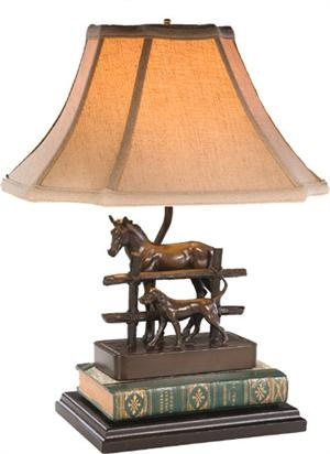 19 best dog lamps images on pinterest resin buffet lamps and horse and dog with fence lamp aloadofball Gallery