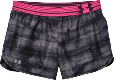 Under Armour® Women's Printed Perfect Pace Shorts