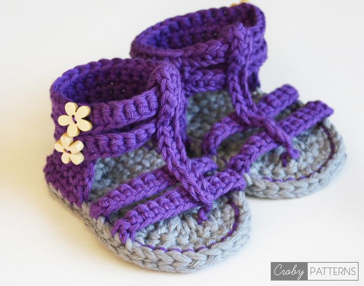 Great Patterns for Crochet baby booties!