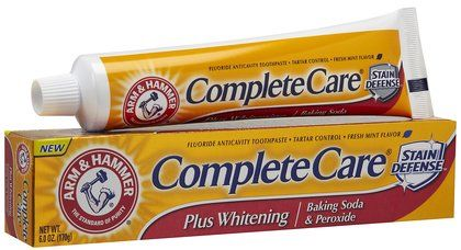 Arm & Hammer Complete Care + Extra White Fluoride Anti-cavity Toothpaste