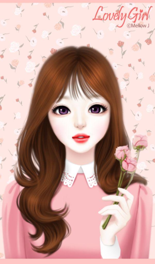 Anime Korean Girl Wallpaper No 1 Wallpaper Hd