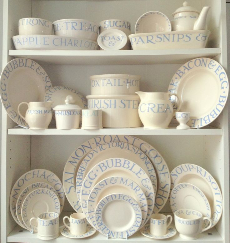 Emma Bridgewater Cambridge Blue Toast Collection