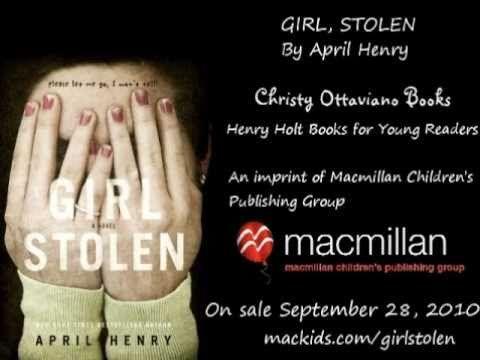 Girl, Stolen by April Henry  -- Book Trailer - YouTube