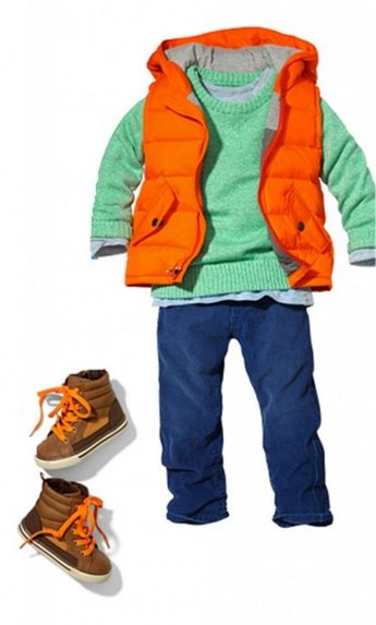 Toddler boy outfit for family photos