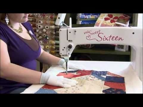 36 best Quilting Videos images on Pinterest | Knitting tutorials ... : small long arm quilting machines - Adamdwight.com