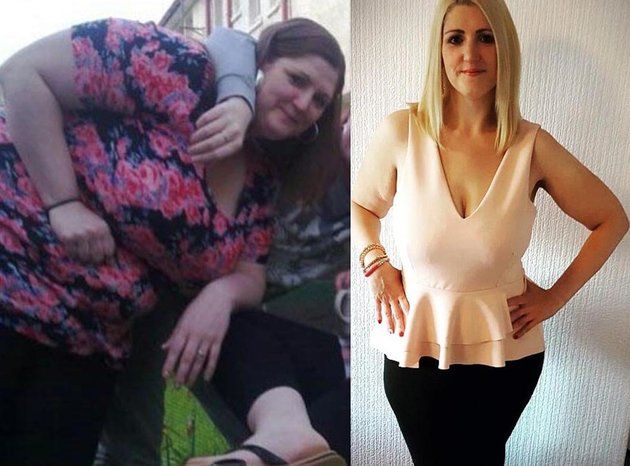 20-Stone Woman Loses Half Her Body Weight In Months - By Walking Everywhere With Buggy | Huffington Post