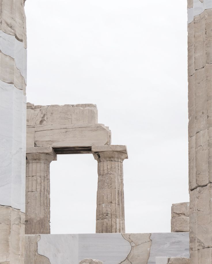 Acropolis in Athens, Greece by Minorstep.