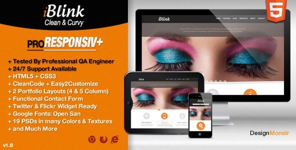 iBlink - Responsive HTML5 Theme