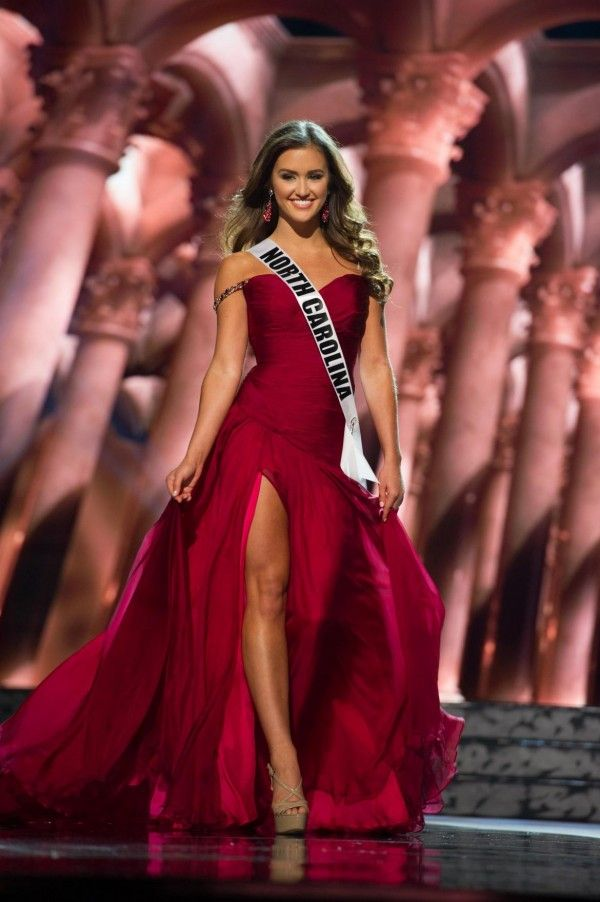 Miss North Carolina USA 2016 - The dresses from the Miss USA 2016 preliminary were HIT, MISS and somewhere in between. While an evening gown alone will never win you the pageant the wrong evening gown choice certainly can cost you the crown. Due to the co