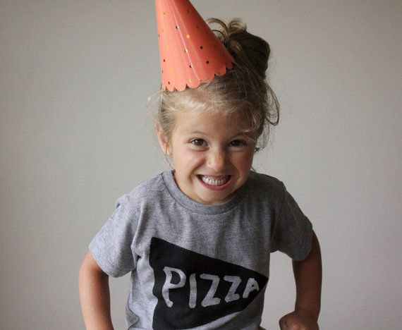 Kids Pizza Party Tee shirt - childrens clothing, back to school clothes, graphic tee, boys and girls, tmnt, pizza party, cool kids tshirt