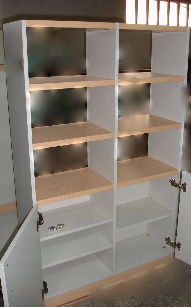 Mueble librería. Con melaminas de diseño.