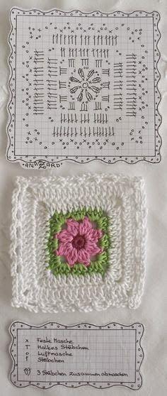 Crocheting galore !!!: Granny Square Crochet Patterns