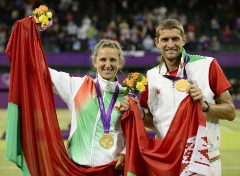 Victoria Azarenka & Max Mirnyi - 2012 London Olympics Mixed Doubles Champions