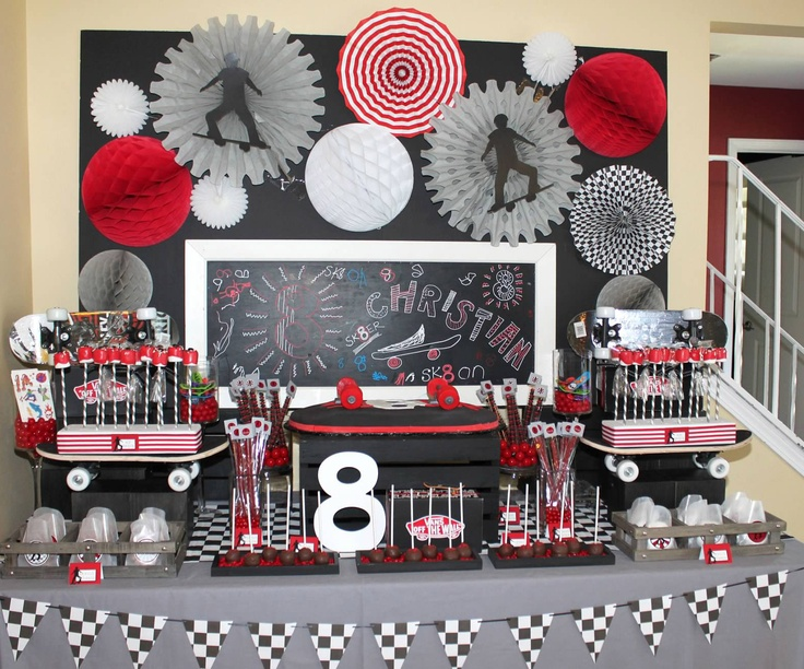 Skateboard Decorations best 25+ skateboard party ideas on pinterest | skateboard cake