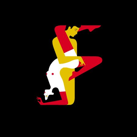 If It's Hip, It's Here: Kama Sutra Cover Art Inspires Full Typographic Alphabet, Prints and Animated Teaser.