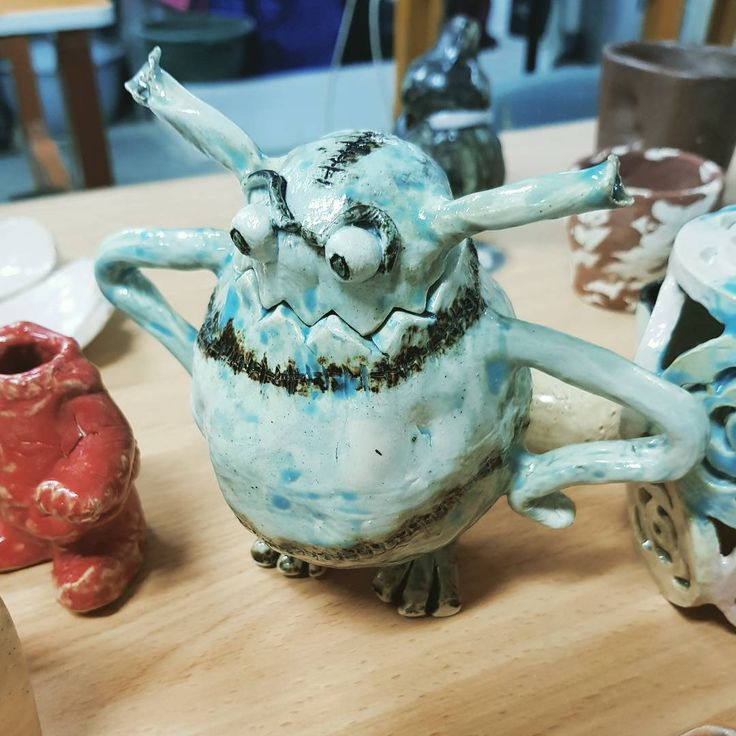 Monster jar dp2015. Pottery1