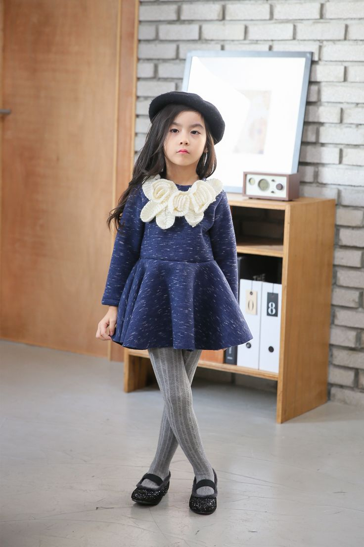 Ozkiz Humming Flower Dress. Perfect for F/W season 2016. OZKIZ, a Korean top brand for kids clothes and shoes collection, founded in 2010. Get it now on www.ozkiz.com Also available on www.amazon.com