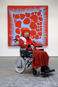 """Yayoi Kusama 0 Yayoi Kusama•Polka Dots• •""""Ma•Vie,Un•Point•