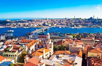 séjour Istanbul Ebookers vols A/R à partir de 130, 00 Euros TTC et des offres jusqu'à -30% sur les nuitées d'hôtels