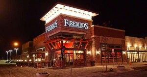 Firebirds Wood Fired Grill is an aspen themed restaurant. They have great food! I would recommend!
