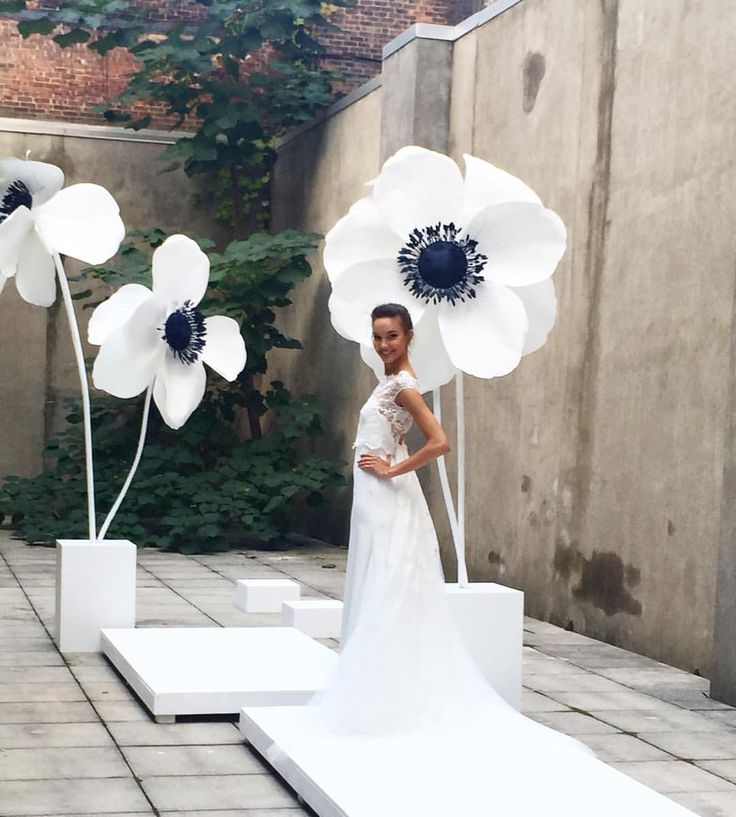 Adorable and angelic silhouettes @lelarose #bridalmarket #bridalfashionweek | : @darcymiller #weddingdress #weddinginspiration