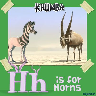 """""""Give it Horns!"""" as the say..and """"Happy Holidays!!""""  Did you know…. Gemsbok have long horns that grow so fast that people use to believe that the baby gemsbok were born with them.  Psst. You will soon be able to own Khumba: The adventure of a lifetime!   MORE GAMES / APPS OUT SOON !!!  #KhumbaTheGAME #GongRocker"""