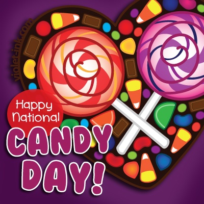 November 4th is National Candy Day!! Sweeeet!