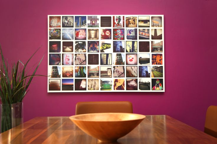 """A Photo Collage Canvas Print 