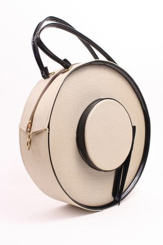 Vintage 60's Hat Box Handbag at RIce and Beans Vintage.