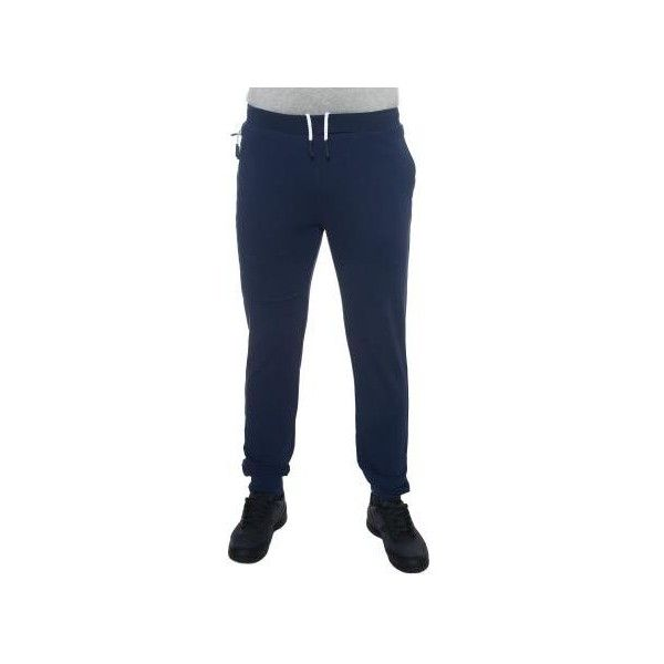 Us Polo Assn Fleece Trousers ($125) ❤ liked on Polyvore featuring men's fashion, men's clothing, men's pants, men's casual pants, blue, trousers, mens elastic waist pants, mens slim fit pants, mens stretch pants and mens fleece pants