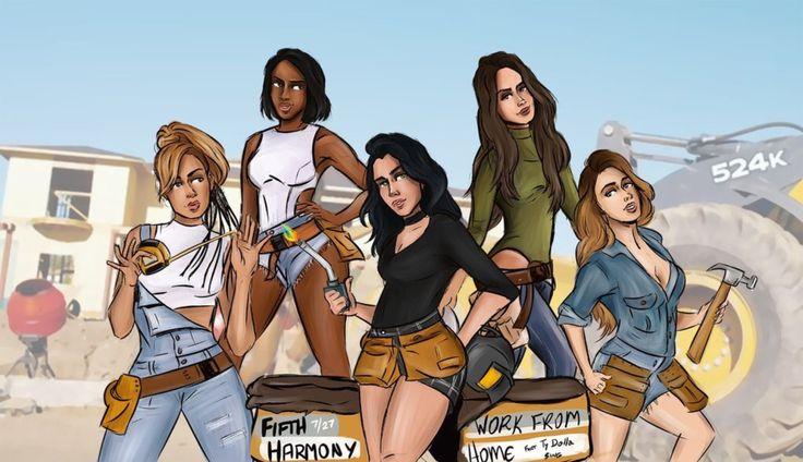 """gomesart: """" Fifth Harmony """""""