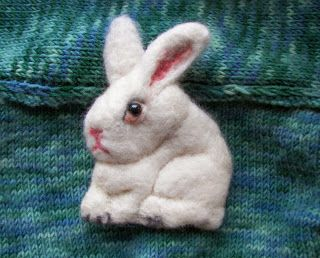 Biały królik - white rabbit