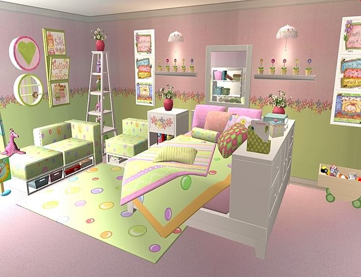 Tropical Twist Recolor Sims 2 Rooms Pinterest Sims