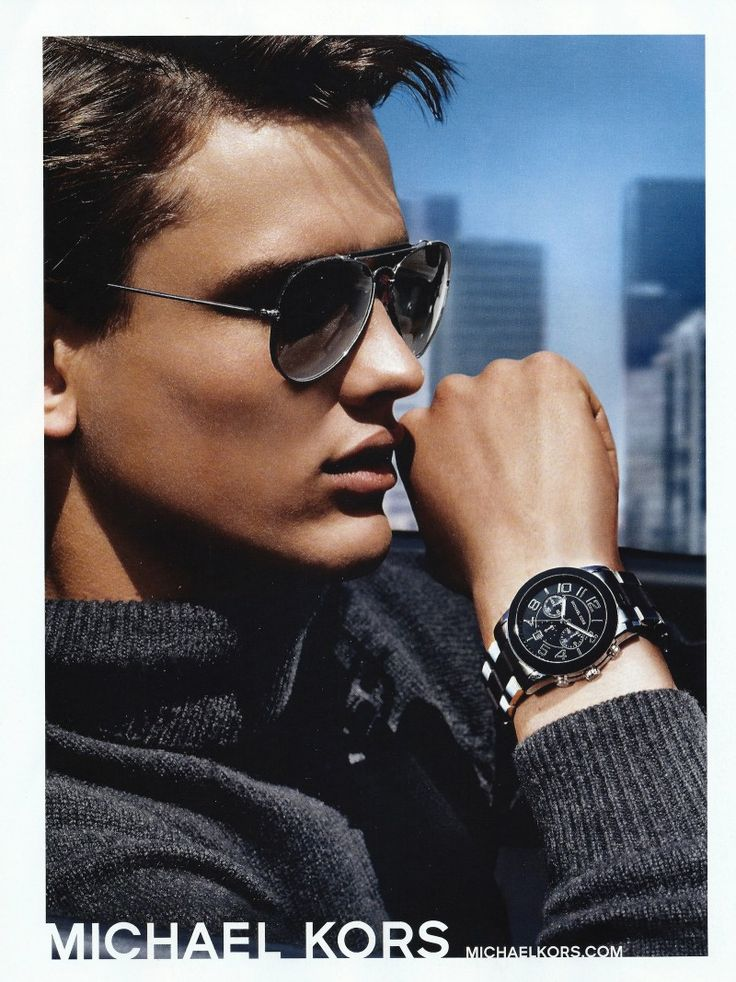 Simon Nessman Poses for Michael Kors Fall/Winter 2013 Eyewear & Watches Campaign - The Fashionisto