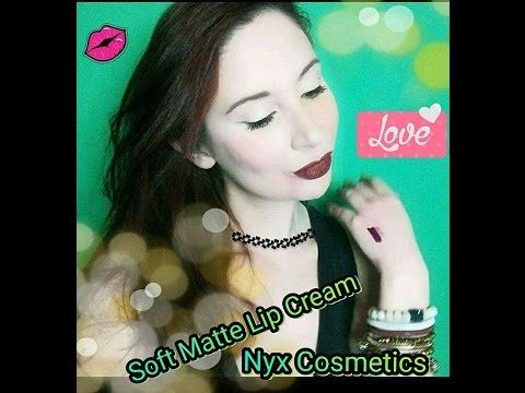 Soft Matte Lip Cream NYX COSMETIS - REVIEW & SWATCHES