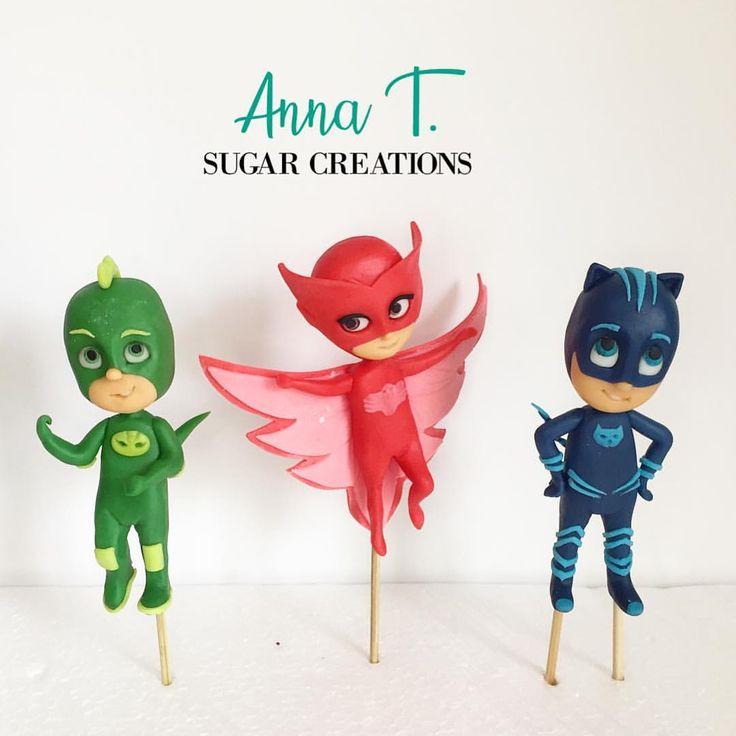 Kids favorite super heroes pjmaskcake pjmasksparty