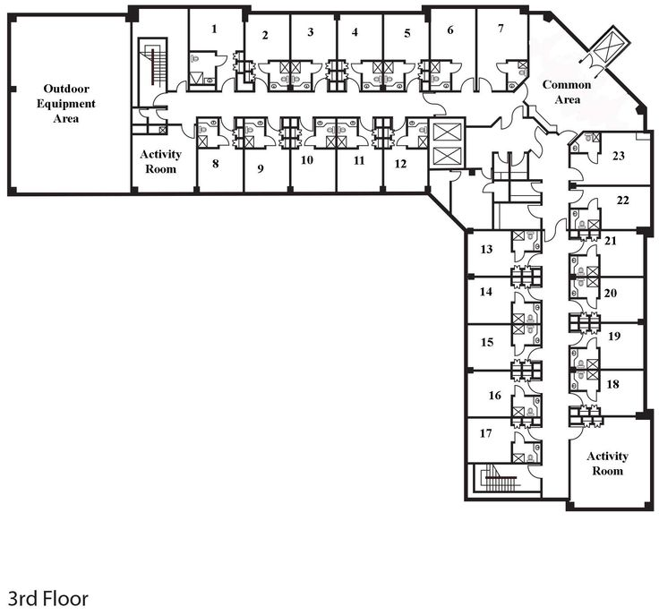 assisted living floor plans - Google Search