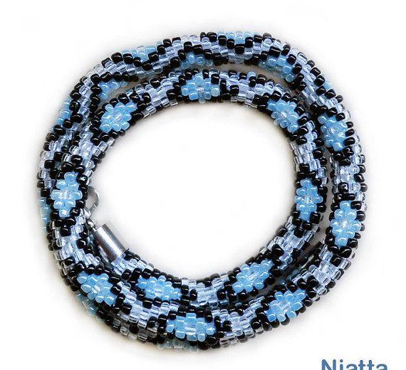 Diamonds Necklace Bead Rope Necklace Bib Necklace Statement