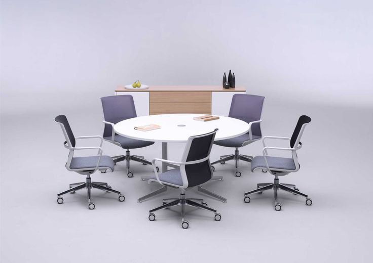 Circo Conference Chair With Castors
