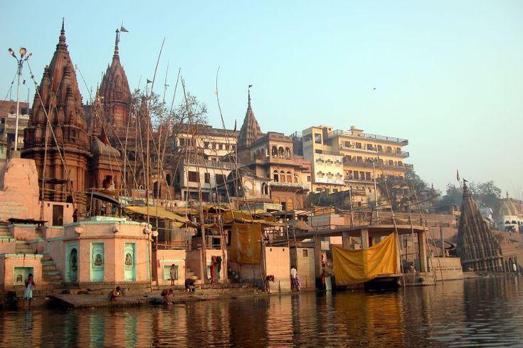 varanasi india - the Ganges