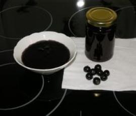 Rezept Schwarze Johannisbeer Marmelade mit Apfel von bb536 - Rezept der Kategorie Saucen/Dips/Brotaufstriche