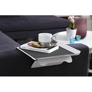 Vassoio da divano Tavolino Vassoio con morsetto Aggancio al tavolo 'James'
