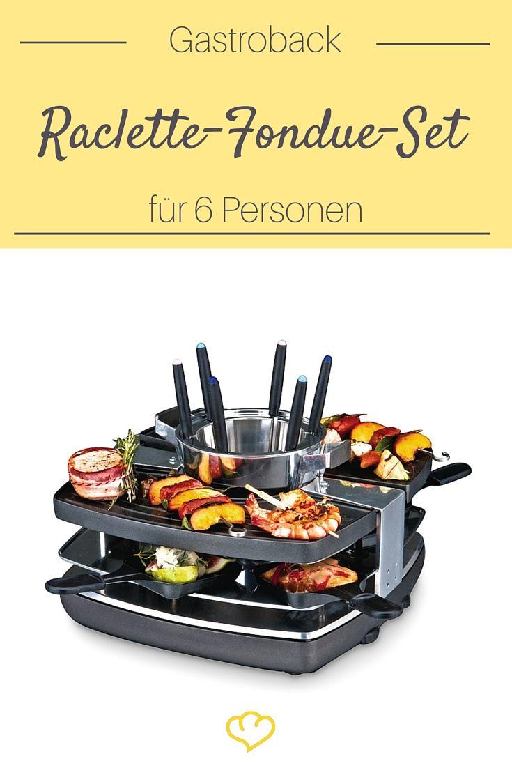 Für alle die sich an Silvester nicht zwischen Fondue und Raclette entscheiden können!