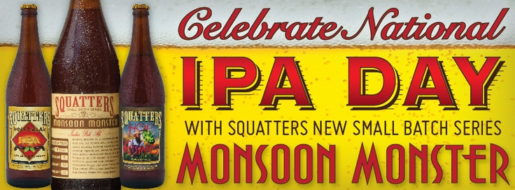 #IPAday is today! Celebrate the beer that is called India Pale Ale.Pale Ale