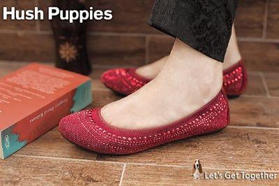 Hush Pupies Latest Winter Girls Shoes  Footwear 2014-15