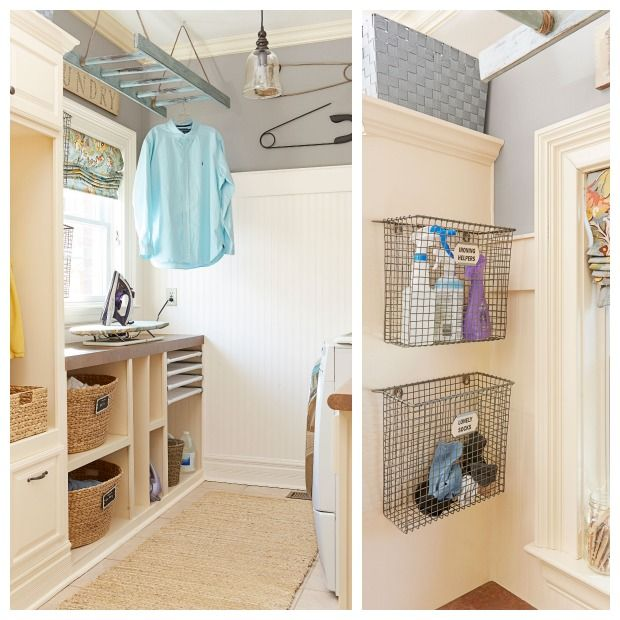 8 Laundry Rooms That Went From Drab To Delightful