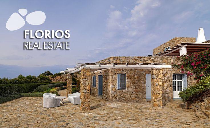 Exceptional location, panoramic views! FMV1390 Villa for Sale in Agios Lazaros, Mykonos island, Greece.