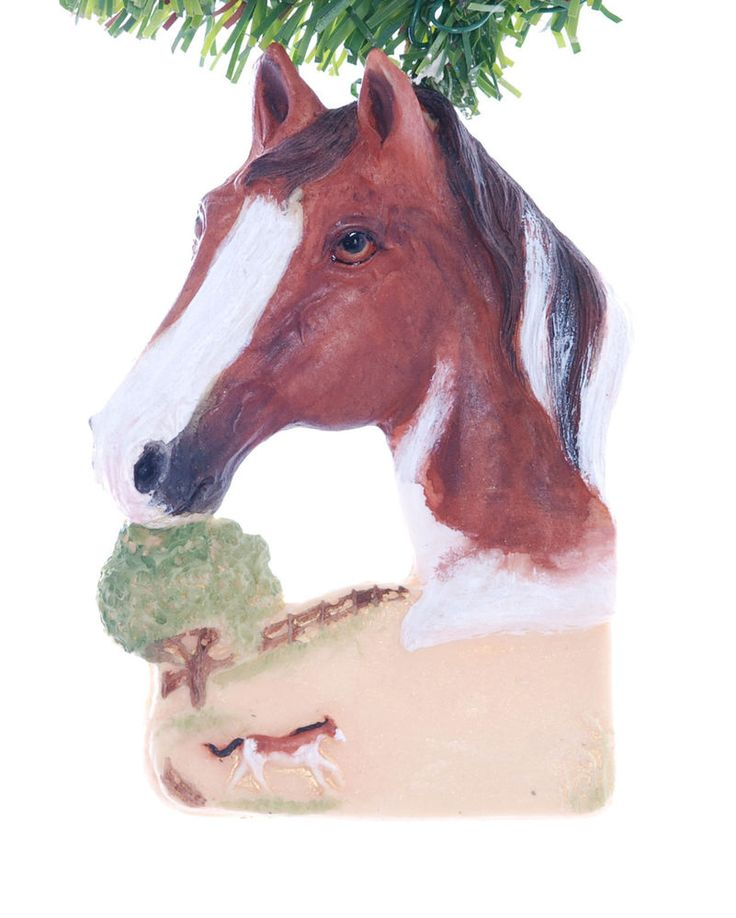 The 52 best images about Horse Christmas Ornaments on Pinterest